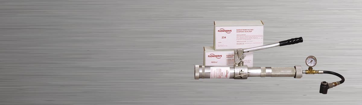 slider: valve sealant gun
