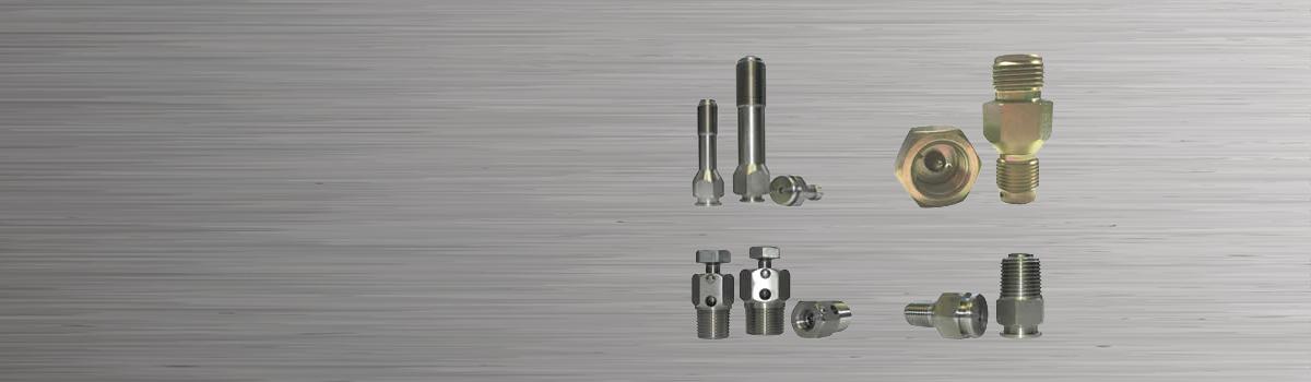 slider: high pressure fittings